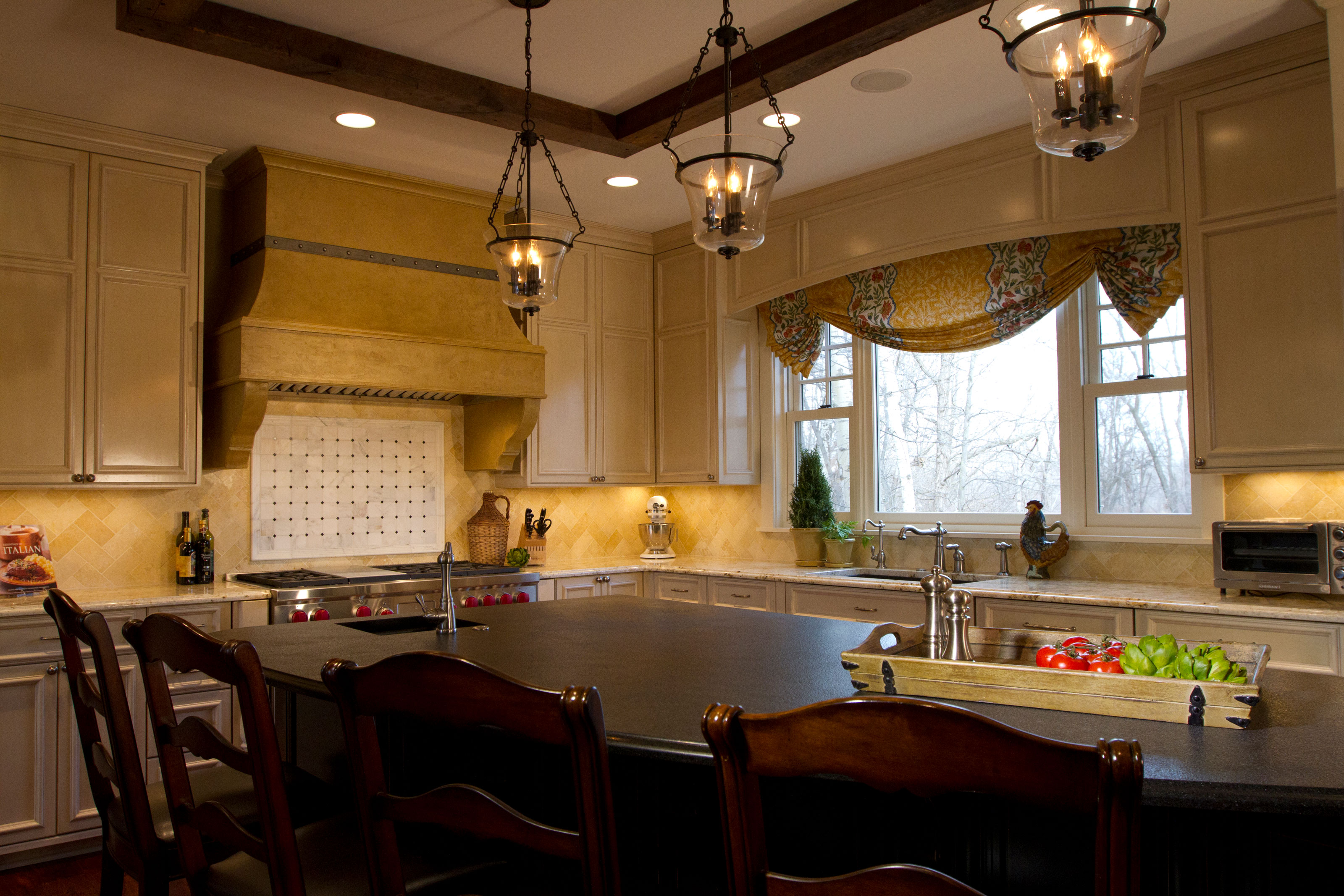 Italian Kitchen of Medina - Destiny Homes