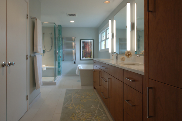 Minneapolis Modern Bathrooms by Destiny Homes Minnesota