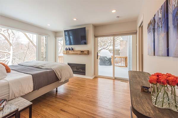 Designed Master Suite in Edina